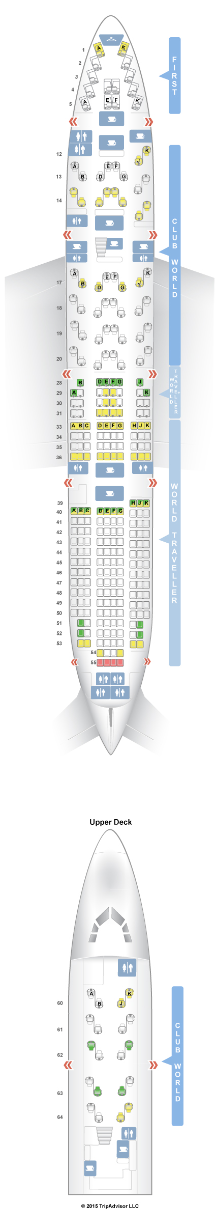 seating map for 747 british air 48 wire get images about seatguru seat map british airways boeing 747 400 744 v2