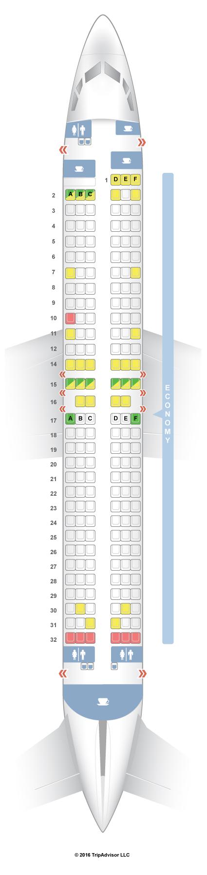 Seatguru Seat Map Sas Boeing 737 800 738