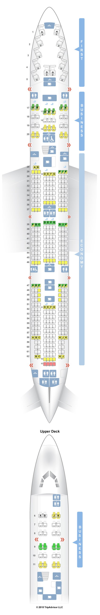 Ek413 Seat Plan Review Emirates Economy Class 777 300 Seatguru Seat Map China Airlines Boeing