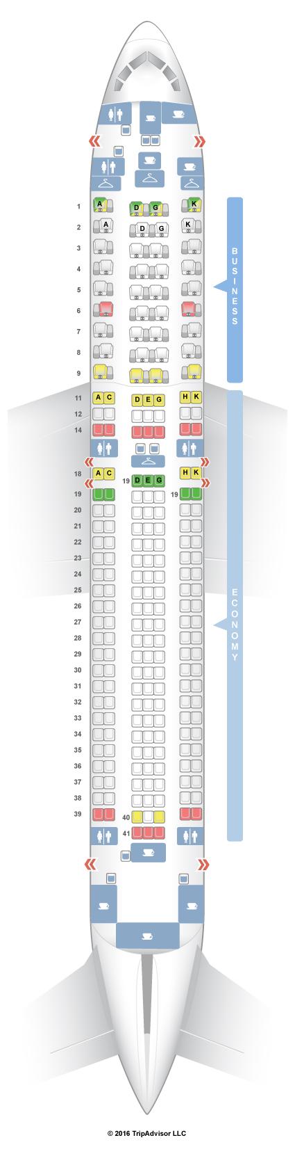 seatguru seat map austrian boeing 767 300er 763 v1