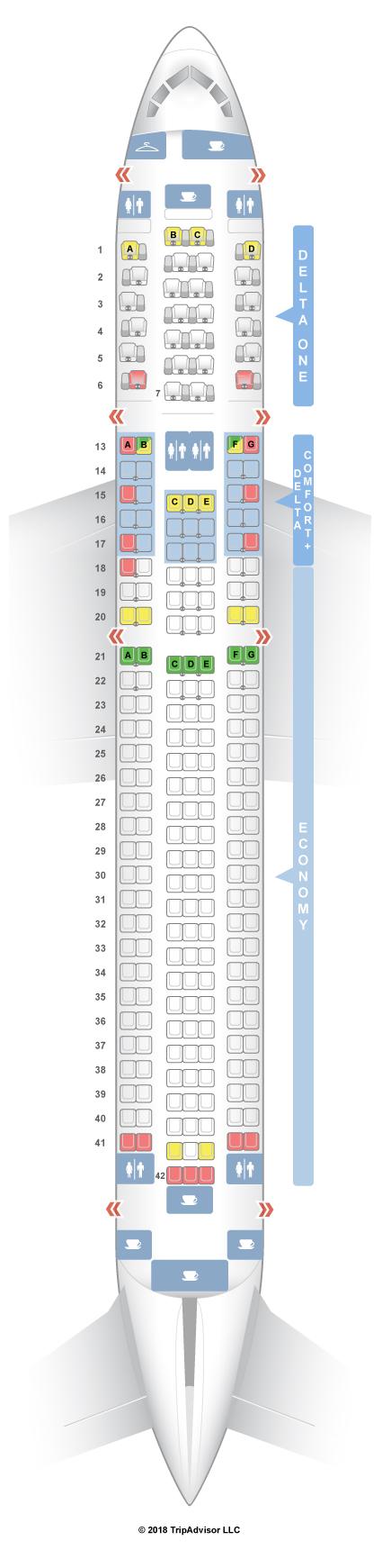 seatguru seat map delta boeing 767 300er 76z v2