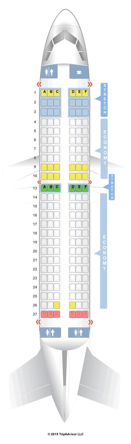 seatguru seat map frontier airbus a319 319 v1