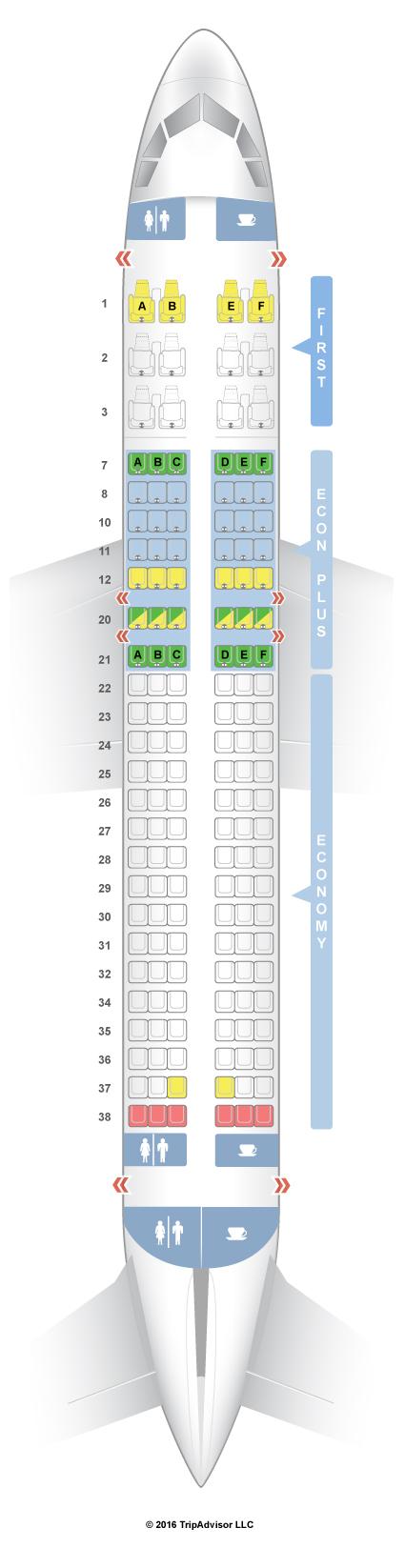 seatguru seat map united airbus a320 320