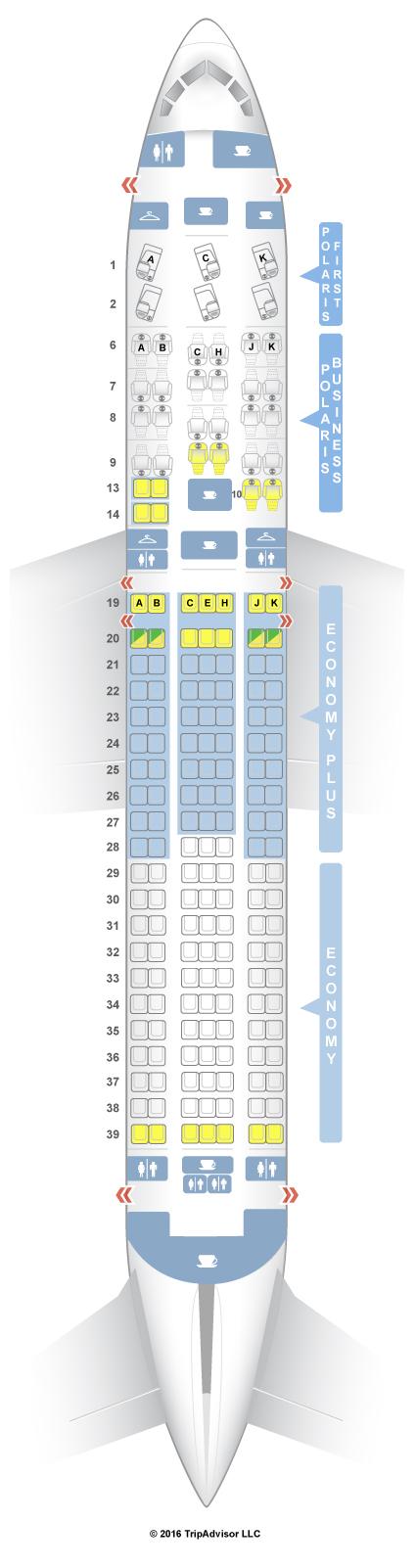 seatguru seat map united boeing 767 300er 76l three class