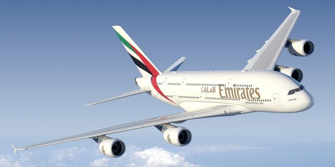 Emirates Flight Information