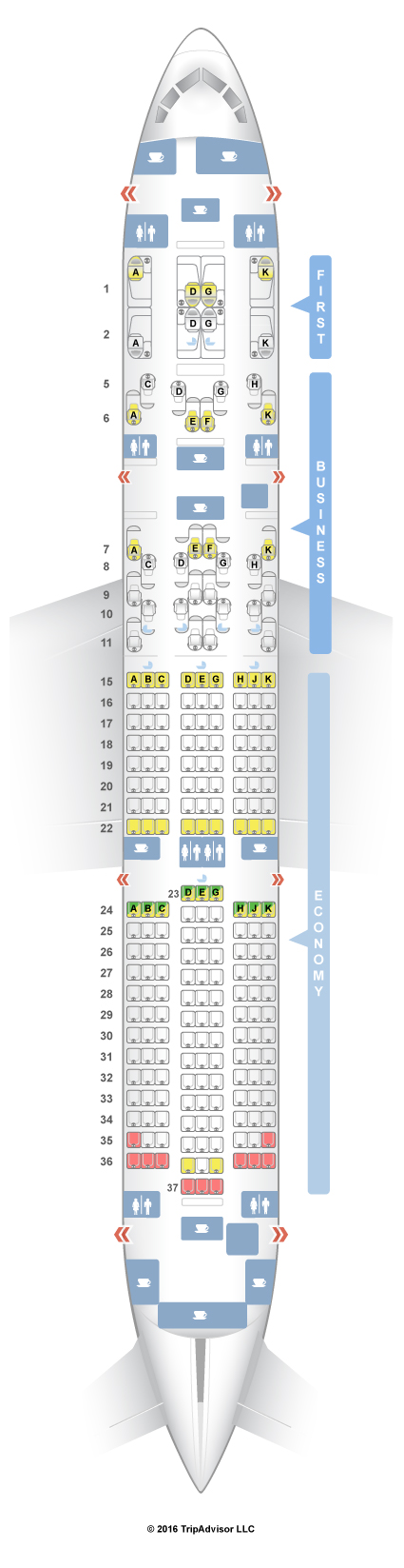 American Airlines Aircraft 789 Seat Map - The Best and