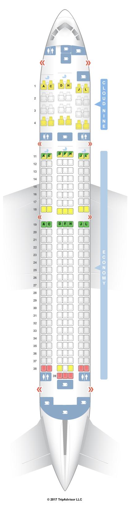 Thomson Boeing 767 Passenger Seating Chart Brokeasshome Com