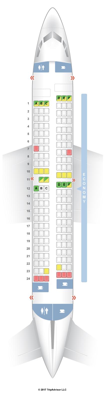 Seatguru seat map southwest boeing 737 700 737