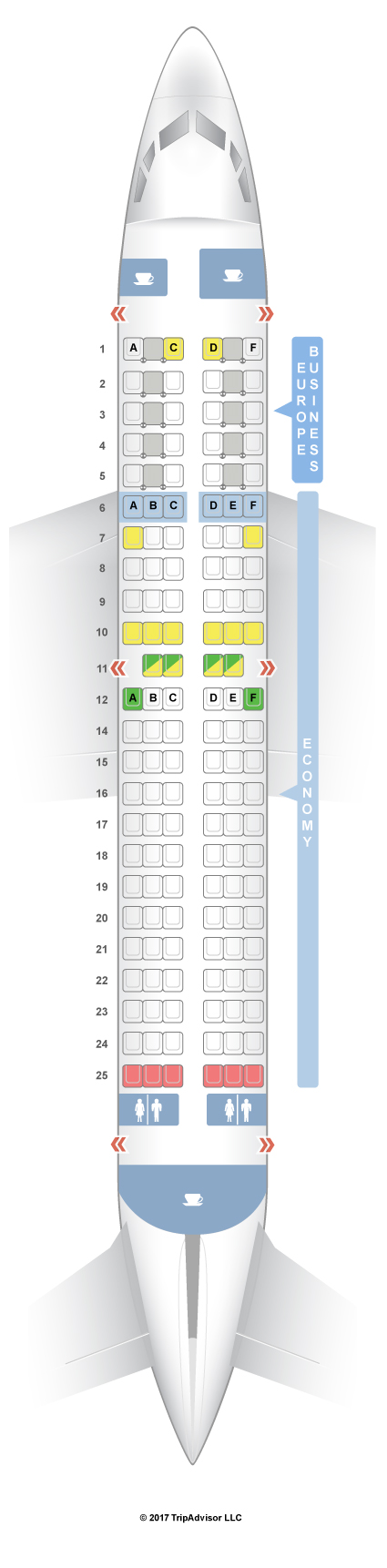 Seatguru Seat Map Klm Boeing 737 700 737