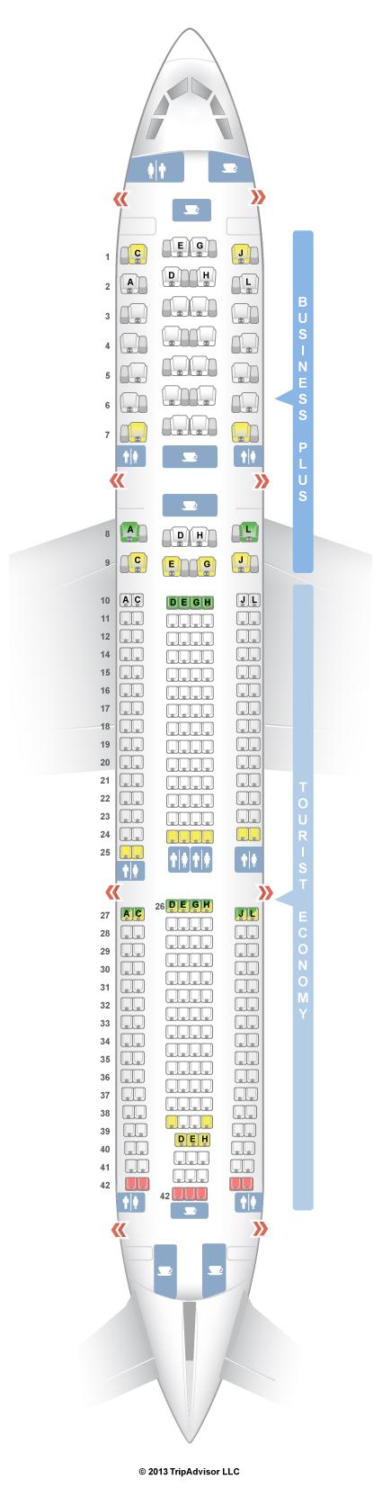 seatguru seat map iberia airbus a330 300 333 v1