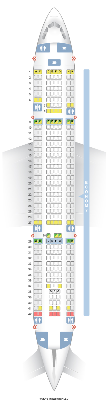 SeatGuru Seat Map Thomas Cook Airlines Airbus A330-200 ...