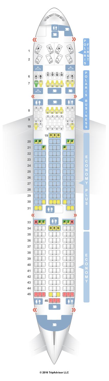 Seatguru Seat Map United Boeing 777 200 772 V2 Three Class Intl