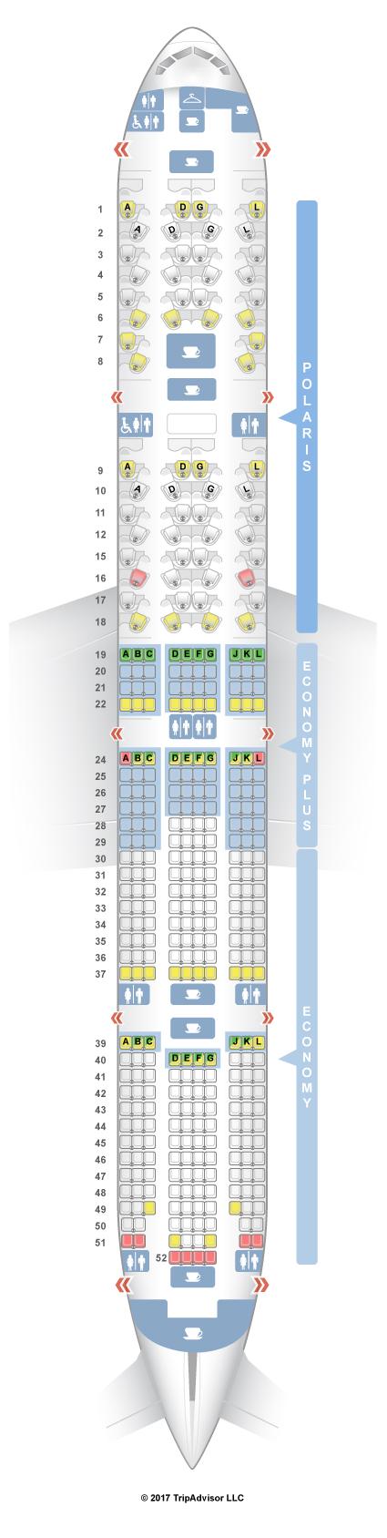 SeatGuru Seat Map United Boeing 777 300ER (77W)