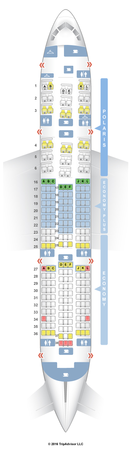 Seatguru Seat Map United Boeing 787 8 788