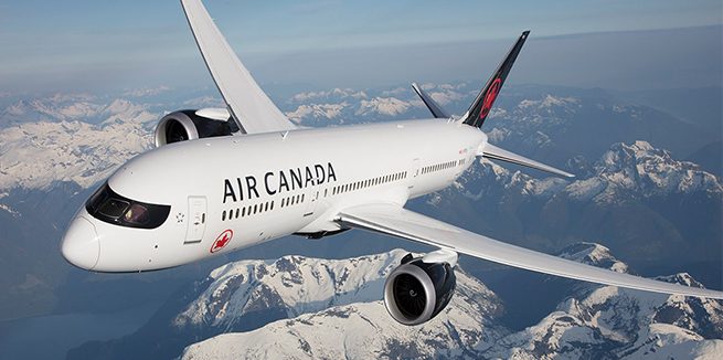 Air Canada Flight Information