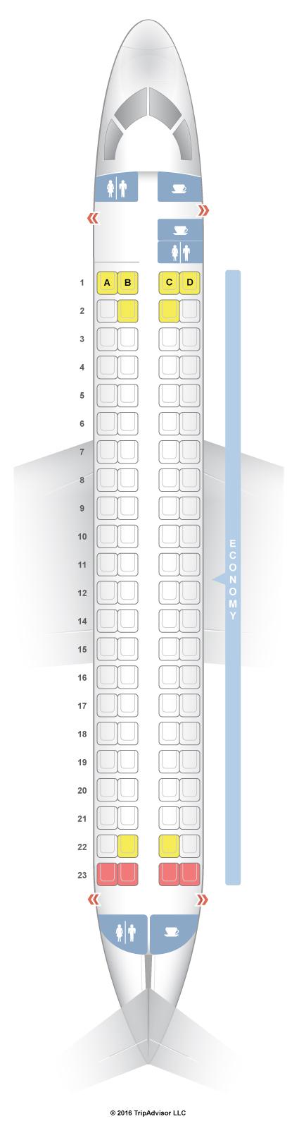 Seatguru Seat Map Flybe Embraer 175 E75