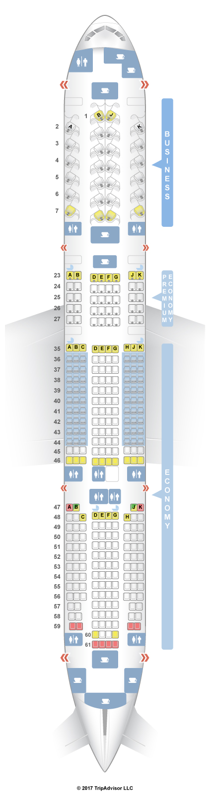 19 Elegant Cathay Pacific Seating Chart 77w
