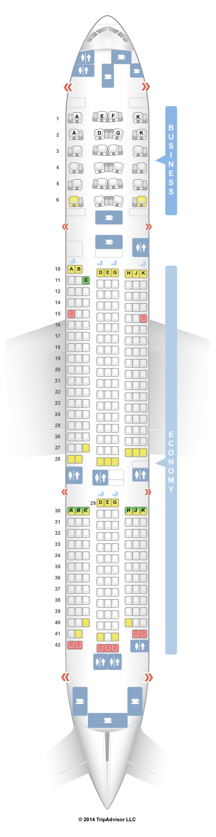 Seatguru Seat Map Asiana Boeing 777 200er 772 V1