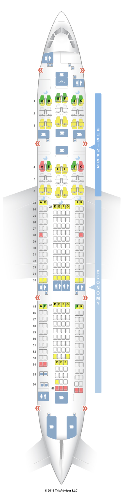 Airbus A380 800 Seating Chart Qantas | Wallseat.co