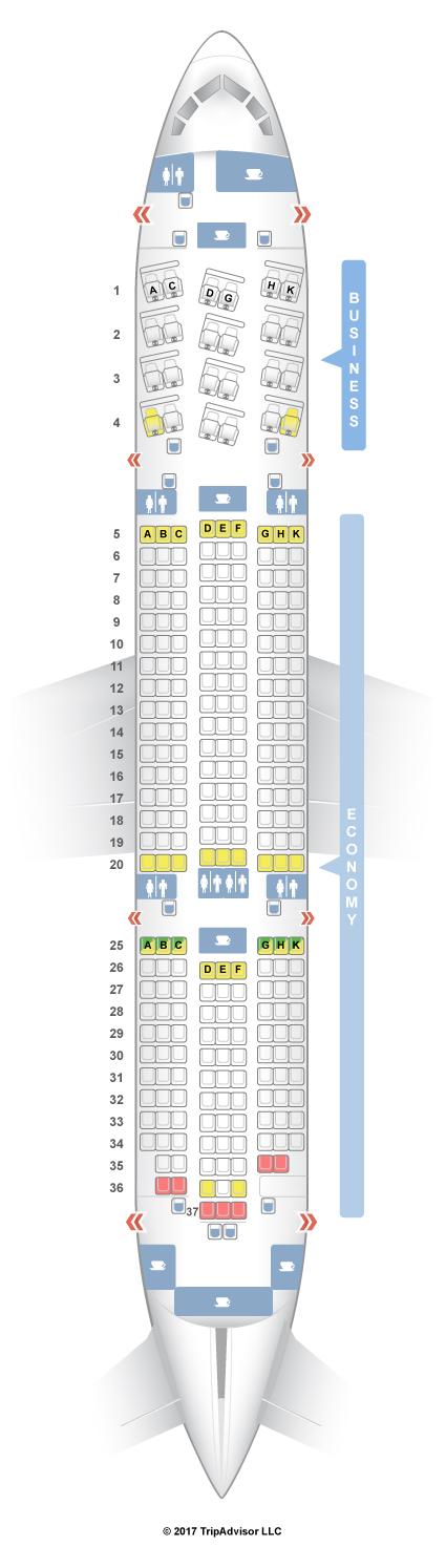 Seatguru seat map royal jordanian boeing 787 8 788