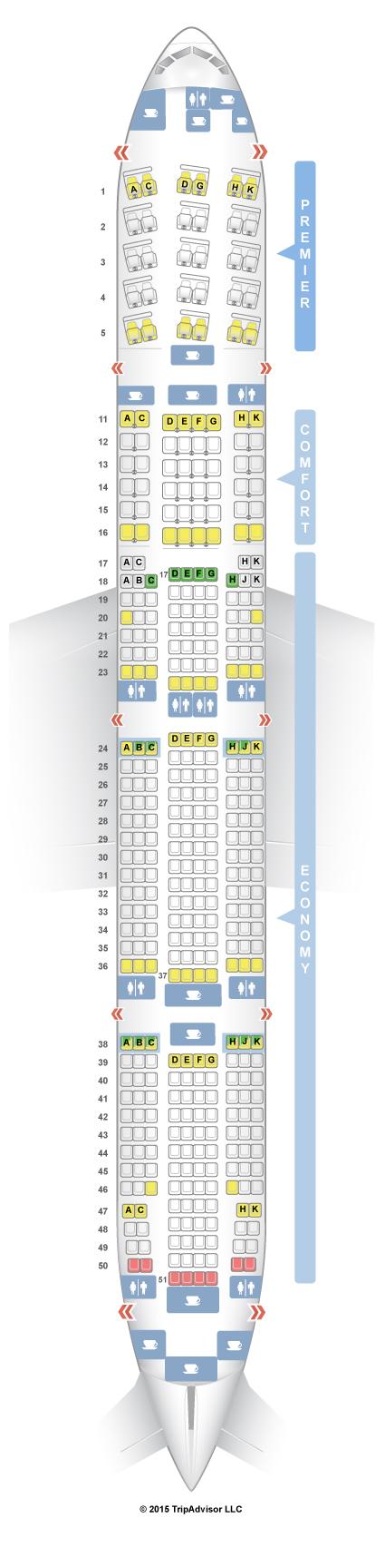 Boeing 777 300Er Seat Map SeatGuru Seat Map Aeroflot Boeing 777 300ER (773) Boeing 777 300Er Seat Map