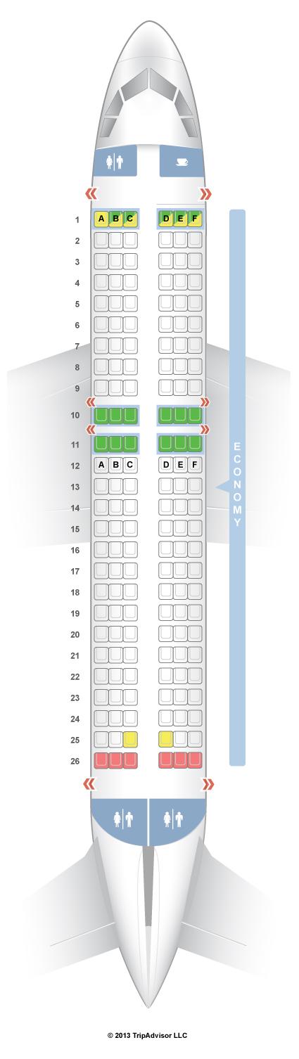 Easyjet Seat Map SeatGuru Seat Map easyJet Airbus A319 (319) Easyjet Seat Map