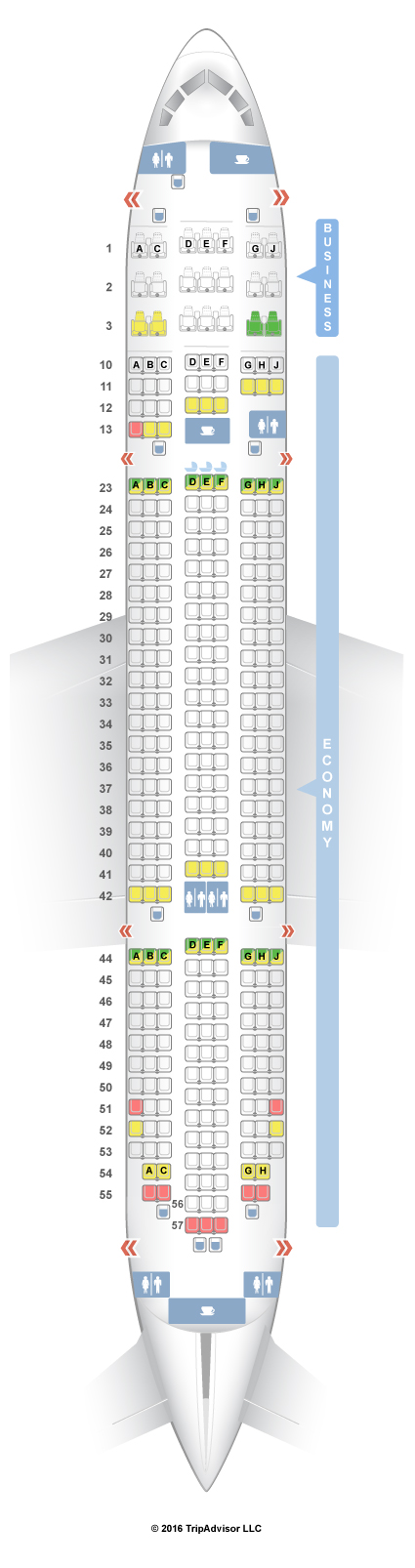 seatguru seat map jetstar boeing 787 8 788