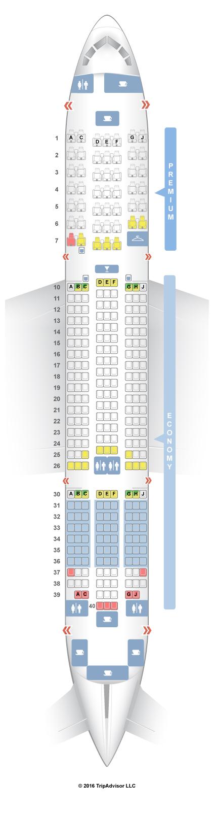 seatguru seat map thomson boeing 787 8 788