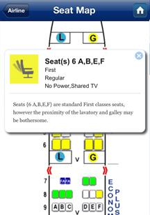 Seat map advice