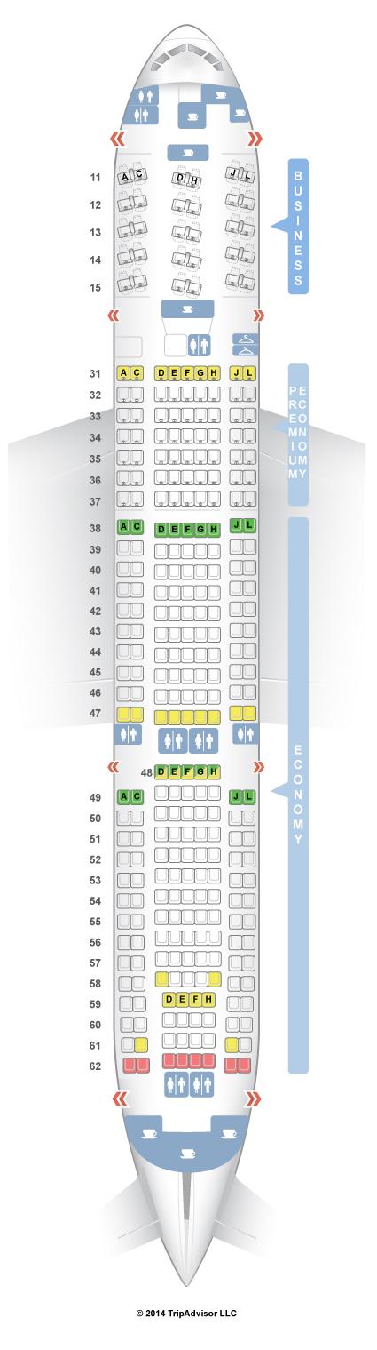 china eastern 777 seat map