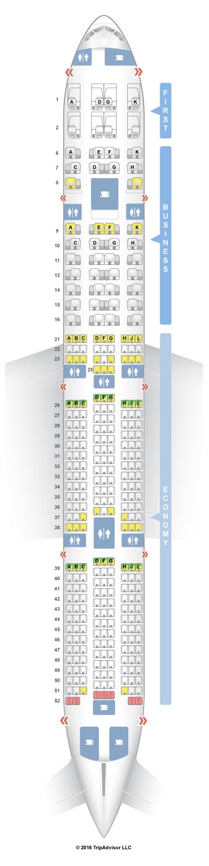 Seatguru Seat Map Garuda Indonesia