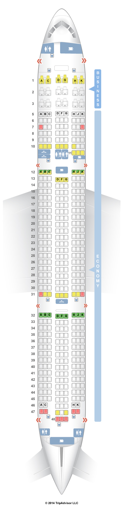 Ana 787 Seat Map | Elcho Table
