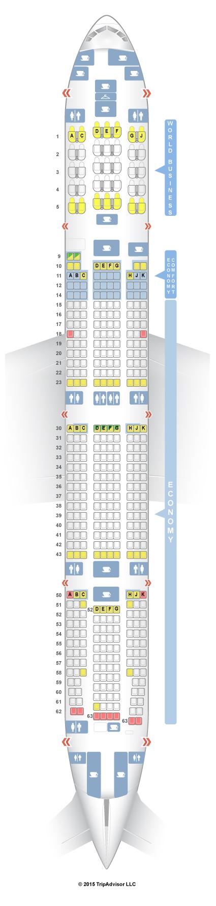 SeatGuru Seat Map KLM