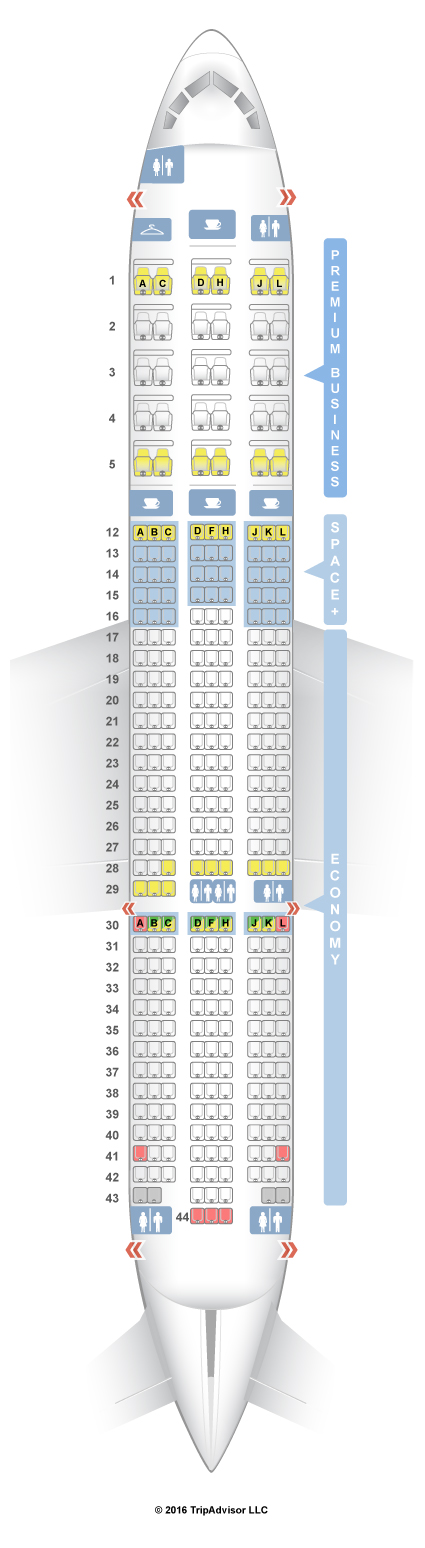 Lan Airlines 787 Seating Chart - Seatguru seat map norwegian