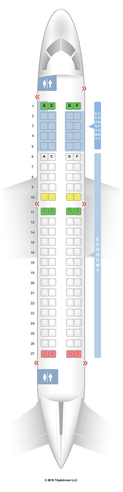 SeatGuru Seat Map Alitalia on