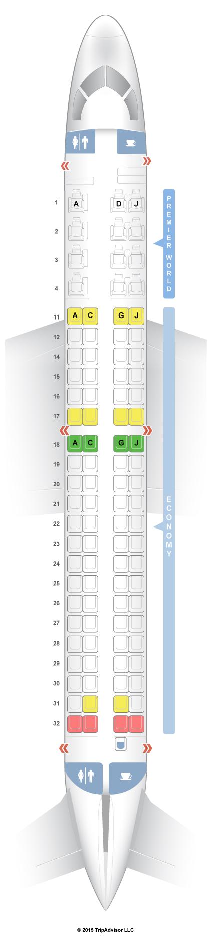 SeatGuru Seat Map Kenya Airways on