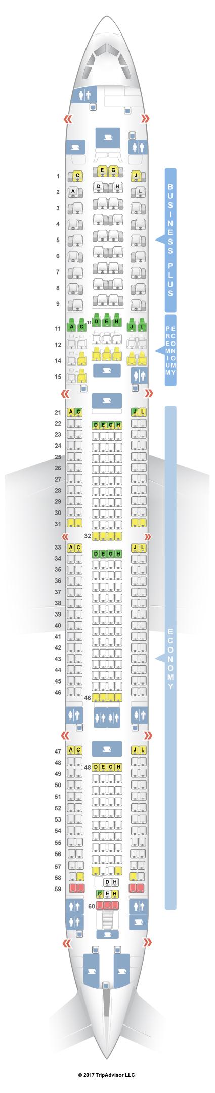 SeatGuru Seat Map Iberia on