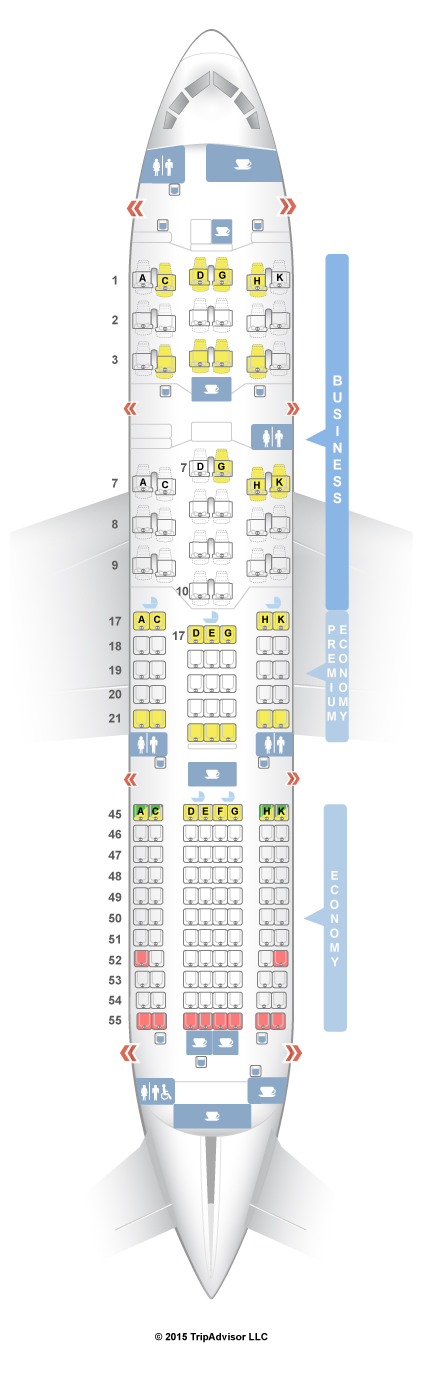 787 Seating Chart Jal - Jal japan airlines boeing 787