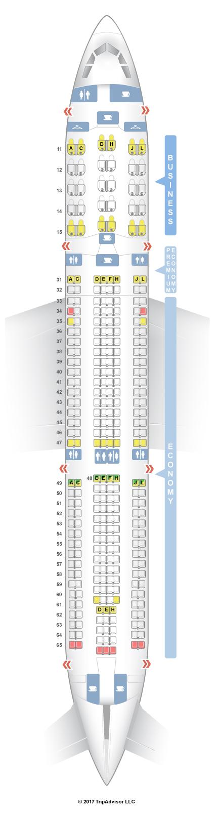 Air China Seat Map SeatGuru Seat Map Air China