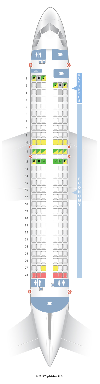 Airbus A320 Seat Map SeatGuru Seat Map Finnair
