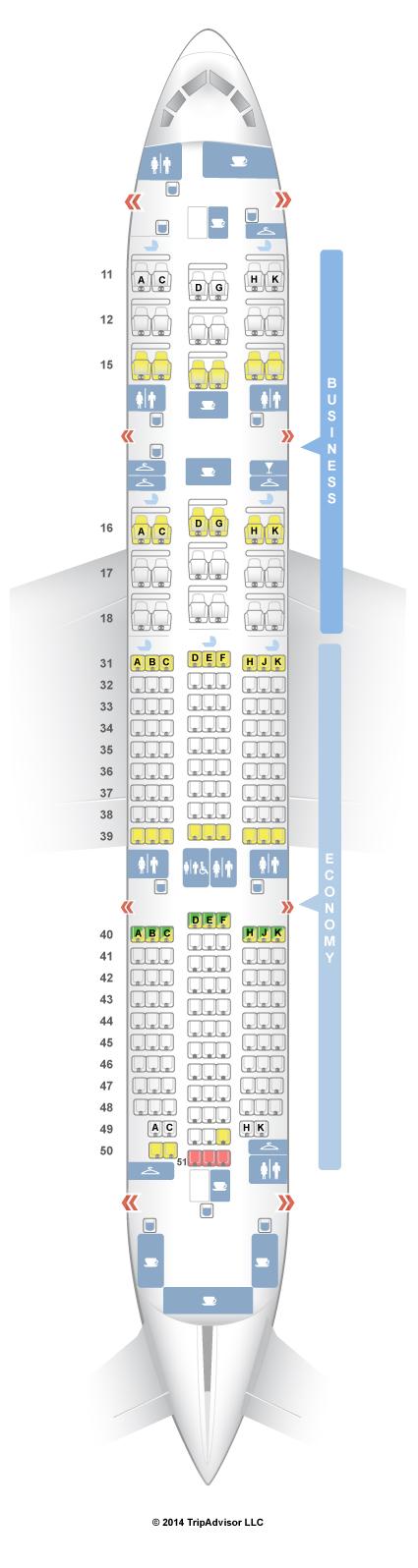 SeatGuru Seat Map Hainan Airlines - SeatGuru