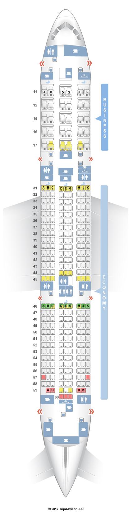 787 9 Seat Map SeatGuru Seat Map Hainan Airlines