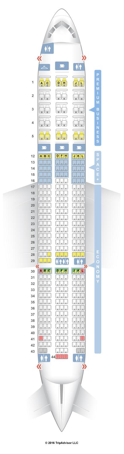 787 9 Seat Map SeatGuru Seat Map LATAM Chile