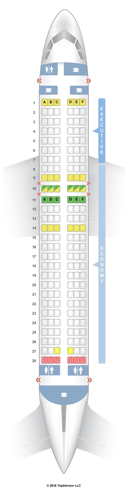 A320 Seat Map SeatGuru Seat Map TAP Portugal
