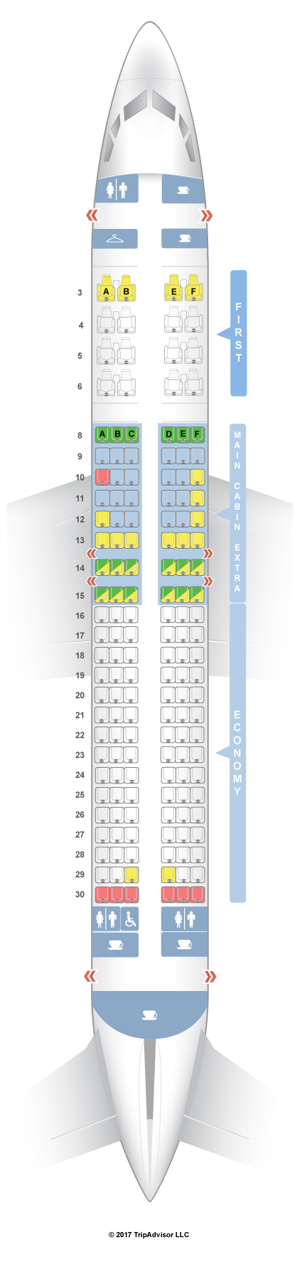 Seatguru Seat Map American Airlines