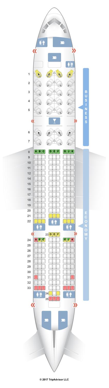 Seatguru Seat Map Avianca Seatguru
