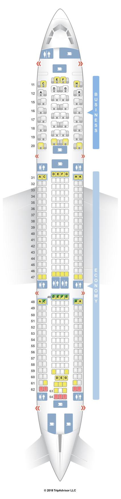 SeatGuru Seat Map Hong Kong Airlines - SeatGuru