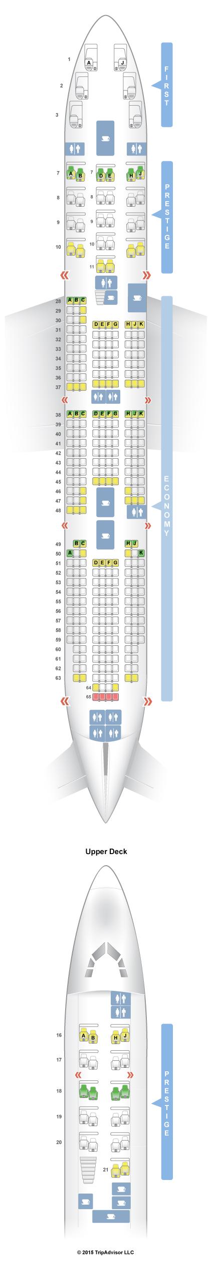SeatGuru Seat Map Korean Air - SeatGuru