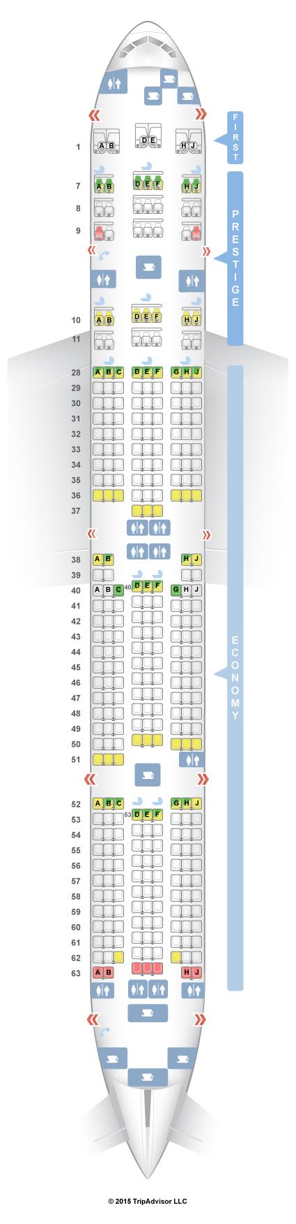 Seatguru Seat Map Korean Air Seatguru