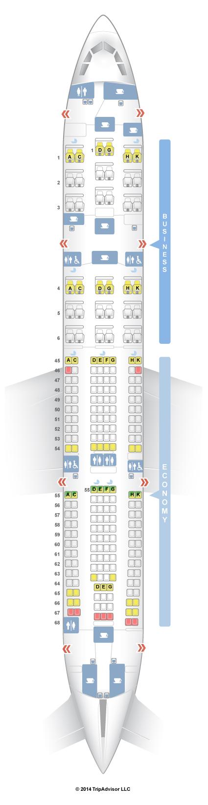 Seatguru Seat Map South African Airways Seatguru